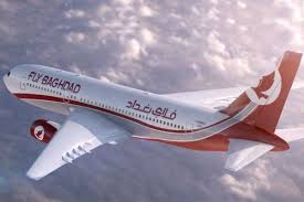هواپیما هواپیمایی فلای بغدادFly baghdad Airlines