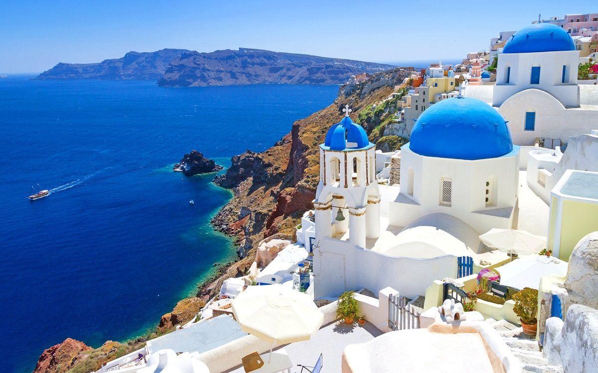 مبلغ پروازهای یونان - جزیره سانتورینی یونان Santorini Island