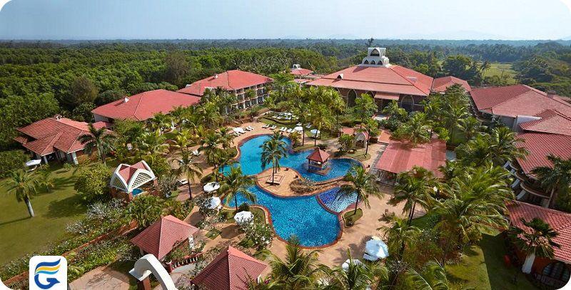هتل کاراولا بیچ ریزورت گوا - بهترین هتل های 5 ستاره گوا