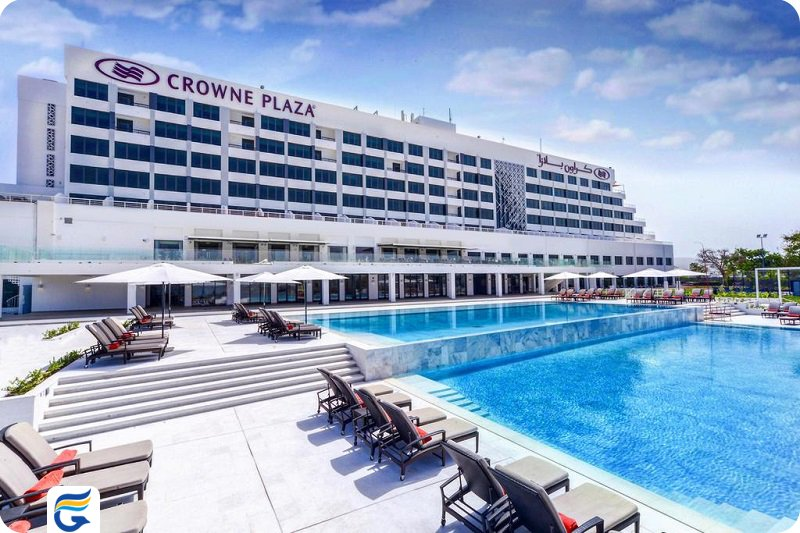 هتل کرون پلازا مسقط Crowne Plaza Muscat - مسافرخانه در مسقط - قیمت آپارتمان در عمان