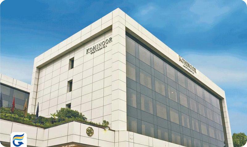 هتل کوهینور کنتینانتال بمبئی - تخفیف رزرو اینترنتی هتل های بمبئی