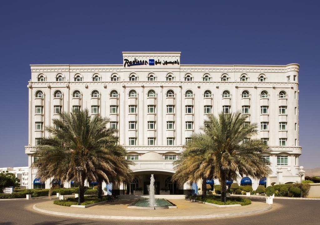 هتل رادیسون بلو مسقط Radisson Blu Hotel Muscat - اجاره سوئیت در مسقط