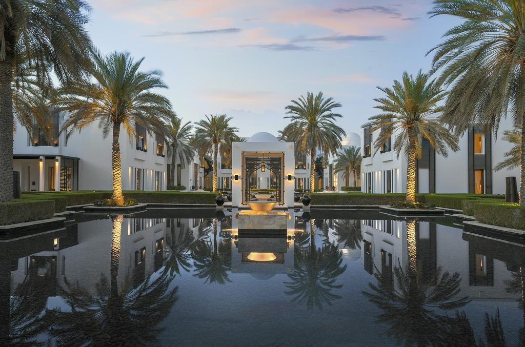 هتل چدی مسقط The Chedi Muscat hotel - هتل 5 ستاره استخر و کلاب دار در عمان - سوئیت ارزان در مسقط