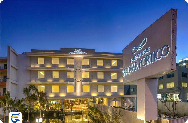 هتل دموس سارووار پورتیکو دهلی - رزرو رایگان هتل دهلی برای سفارت