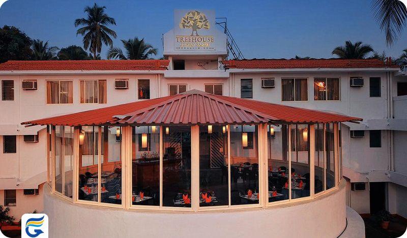 هتل تری هاوس سیلکن سندز گوا - هتل های صاحلی گوا