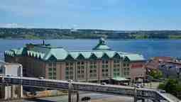 هتل مریوت هاربر فرانت هالیفاکس نوا اسکوشیا کانادا