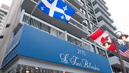 هتل لا تور بلورده مونترال کبک کانادا
