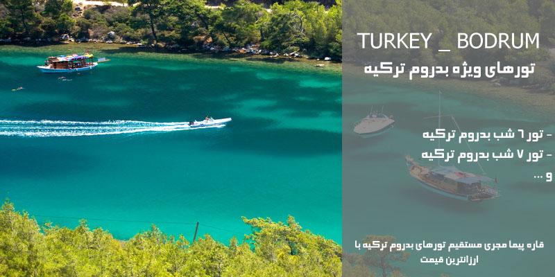 تورهای ارزان قیمت بدروم ترکیه