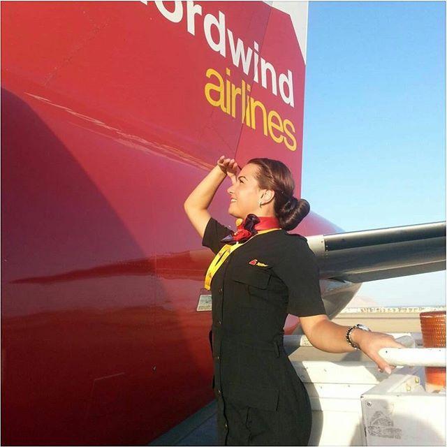 مهمانداران هواپیمایی نورد ویند روسیه Nordwind Airlines