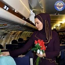 مهمانداران هواپیمایی کاسپین Caspian Airlines Company