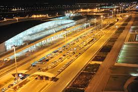 نمایی از فرودگاه امام تهران