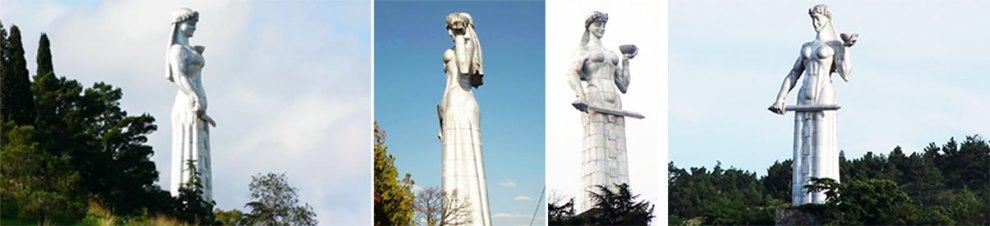 دیس کارتلیس مجسمه مادر