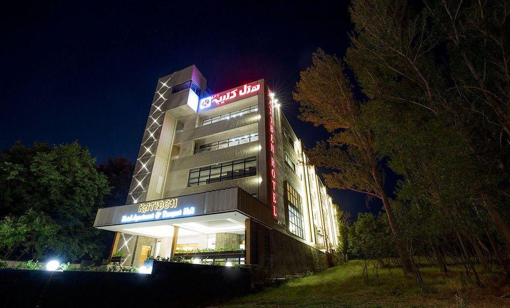 هتل کتیبه همدان - هتل های نزدیک مرکز شهر همدان