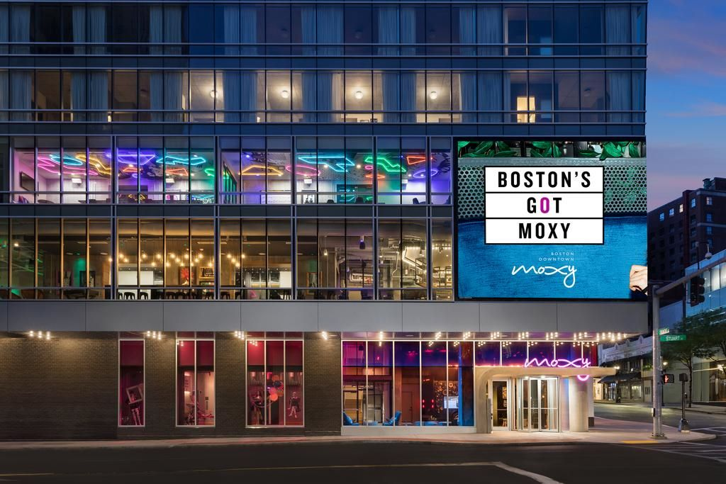 هتل موکسی دان تئون بوستون - بهترین هتل های بوستون