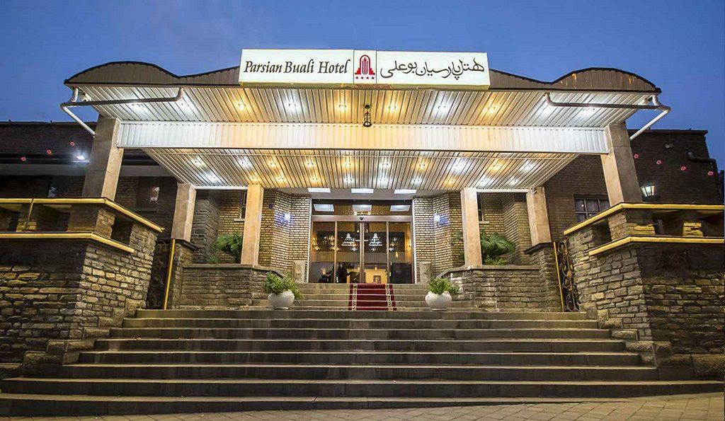 هتل پارسیان بوعلی همدان - لیست هتل های غار علی صدر همدان