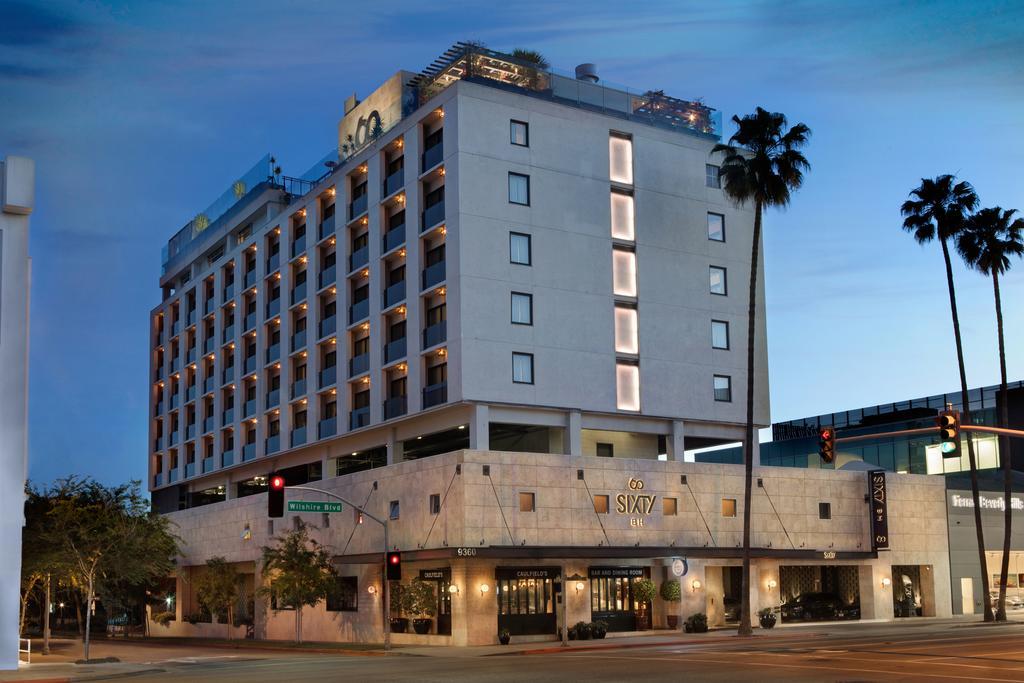 هتل سیکستی بورلی هیلز لس آنجلس - هتل های فرودگاه لس آنجلس