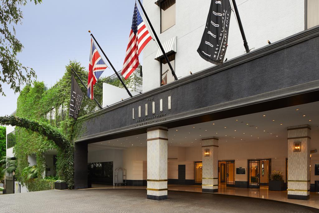 هتل لندن وست هالیوود ات برولی هیلز لس آنجلس
