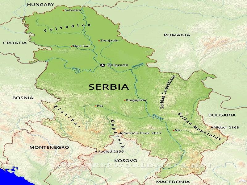 مکانهای دیدنی و جاذبه های گردشگری بلگراد صربستان