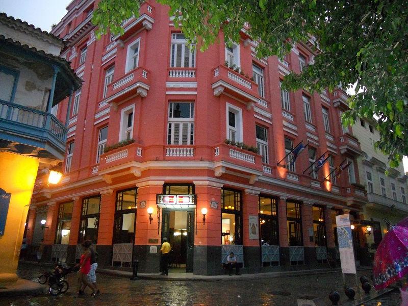 هتل آمبوس موندوس هاوانا کوبا Ambos MUNDOS hotel Havana