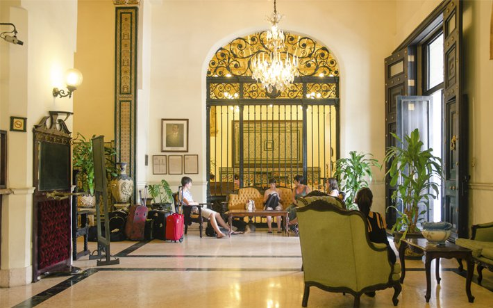 هتل انگلستان در هاوانا کوبا INGLATERRA hotel Havana