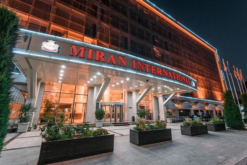 هتل میران اینترنشنال تاشکند ازبکستان MIRAN International hotel Tashkent