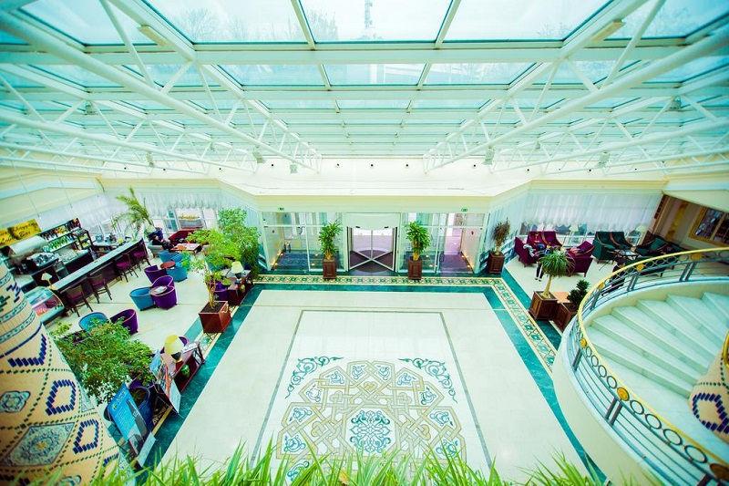 هتل سیتی پالاس تاشکند ازبکستان City Palace Hotel Tashkent