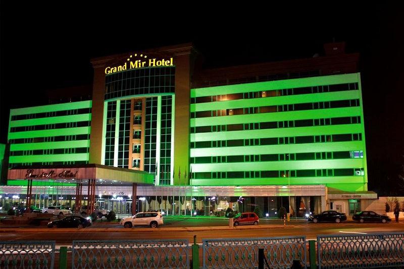 هتل گراند میر تاشکند ازبکستان Grand Mir Hotel Tashkent