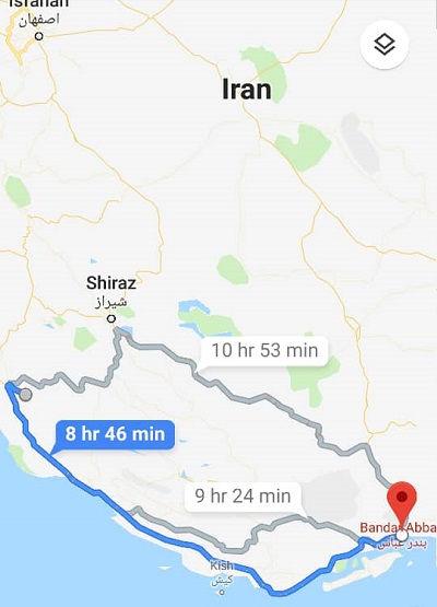 بلیط ارزان قیمت اتوبوس بوشهر به بندرعباس