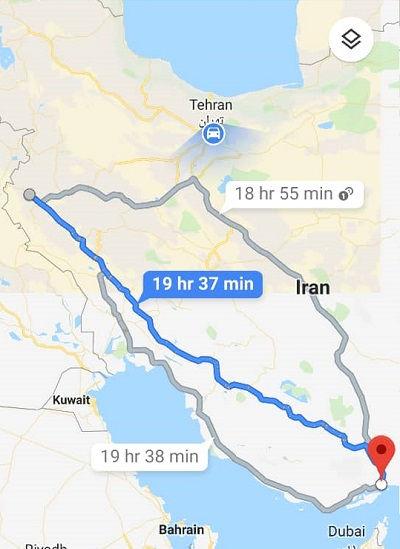 ارزانترین بلیط اتوبوس بندرعباس به کرمانشاه