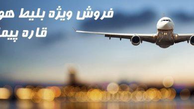 تصویر از بلیط هواپیما دنیزلی
