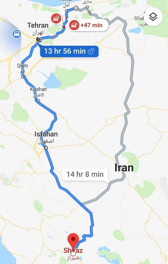 کمترین قیمت بلیط بایل شیراز