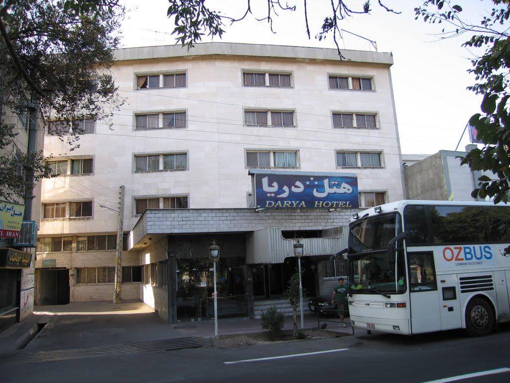 هتل دریا تبریز - لیست هیمت هتل های تبریز
