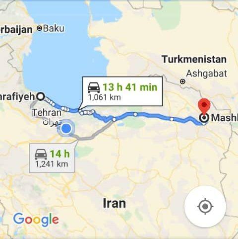 خرید اینترنتی اتوبوس مشهد به آستانه اشرفیه گیلان و آستانه اشرفیه به تبریز
