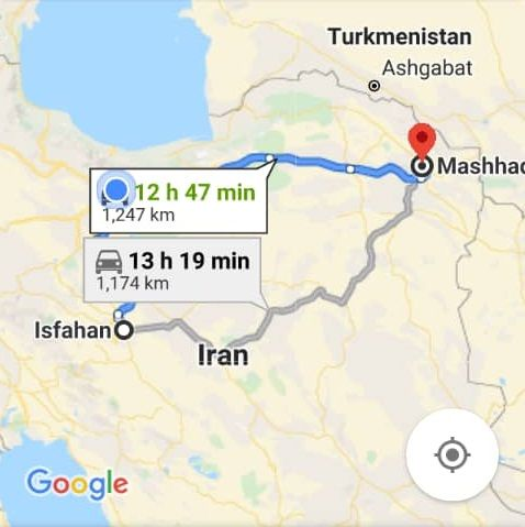 قیمت بلیط اتوبوس اصفهان مشهد و بلیط اتوبوس مشهدبه اصفهان