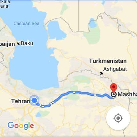 هزینه بلیط اتوبوس تهران مشهد و مشهد به تهران