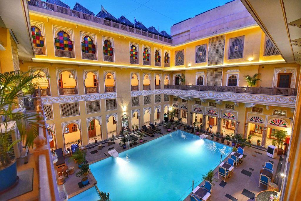 هتل نیربانا هریتیج جیپور - قیمت هتل در جیپور