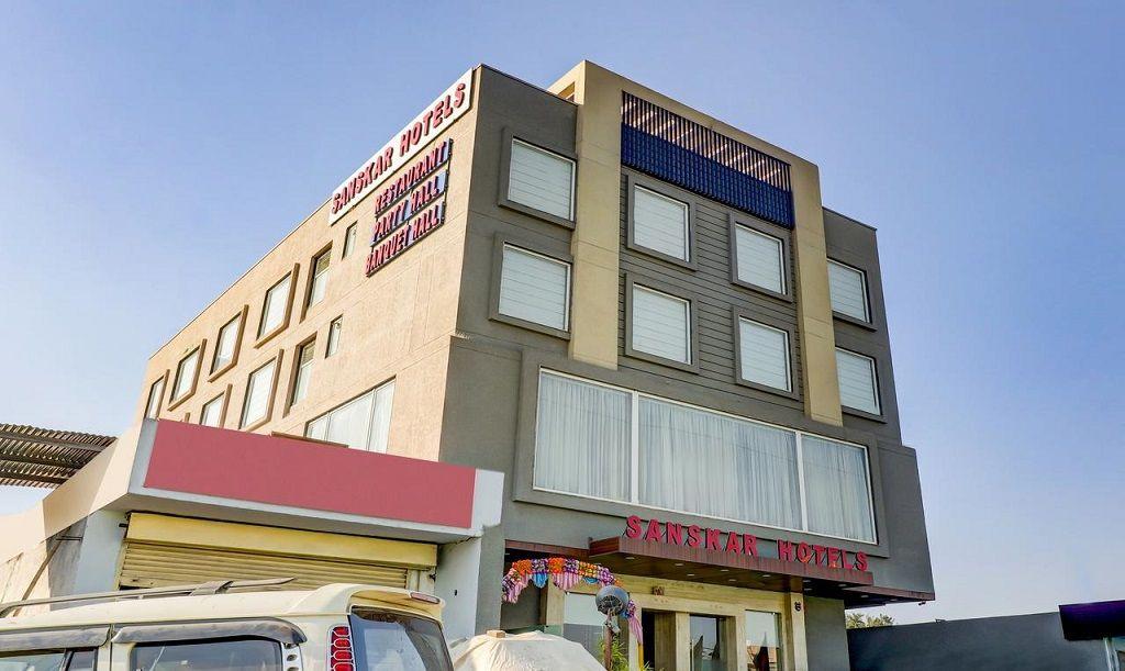 هتل سانسکار جیپور - هتل های نزدیک فرودگاه جیپور