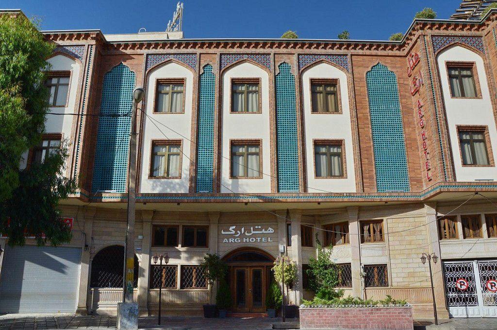 ارزانترین قیمت هتل ارگ شیراز - بهترین هتل های شیراز