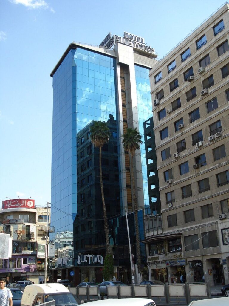 رزرو هتل بلو تائور دمشق - بهترین هتل ها دمشق