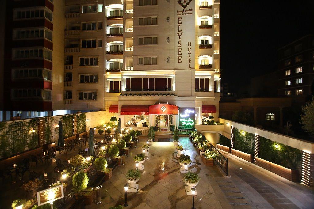 کمترین قیمت هتل الیزه شیراز - معروف ترین هتل های شیراز