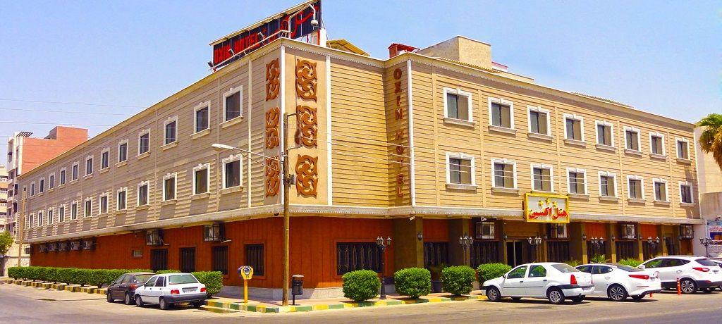 هزینه رزرو هتل اکسین اهواز - سوئیت و آپارتمان در اهواز اجاره