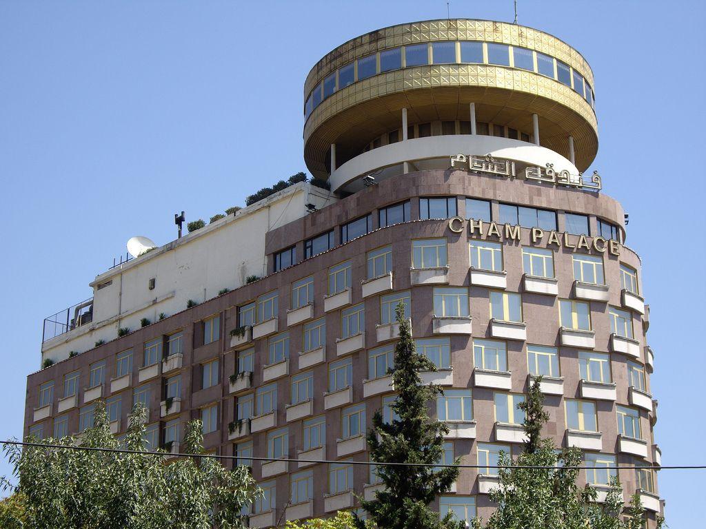 بهترین هتل 5 ستاره سوریه هتل چام پالاس - هتل های 5 ستاره دمشق