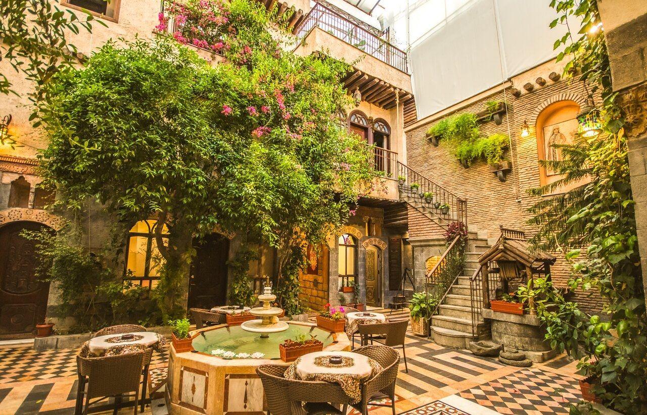 رزرو هتل در سوریه دمشق