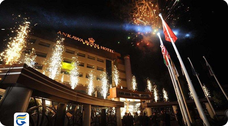 بهترین نرخ هتل و اسپا رویال آنکاوا