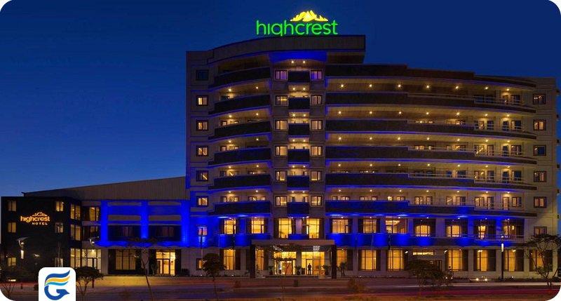 قیمت اقامت در هتل هایکرست