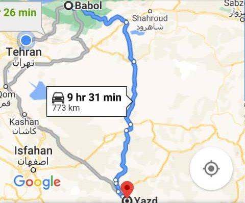 بلیط ارزان قیمت اتوبوس بابل یزد و و یزدبه بابل