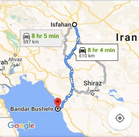 بلیط اتویوس رفت و برگشت اصفهان به بوشهر با ارزانترین قیمت