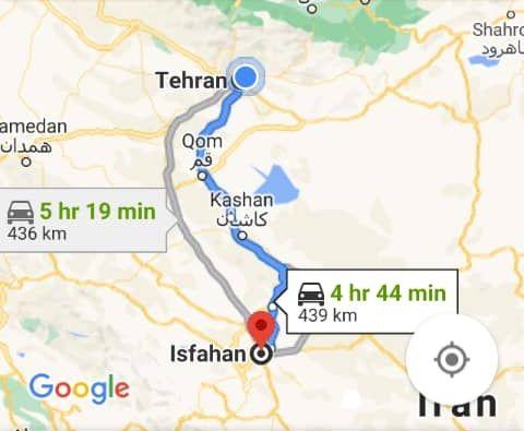 بلیط اتویوس رفت و برگشت اصفهان به یزدبا ارزانترین قیمت