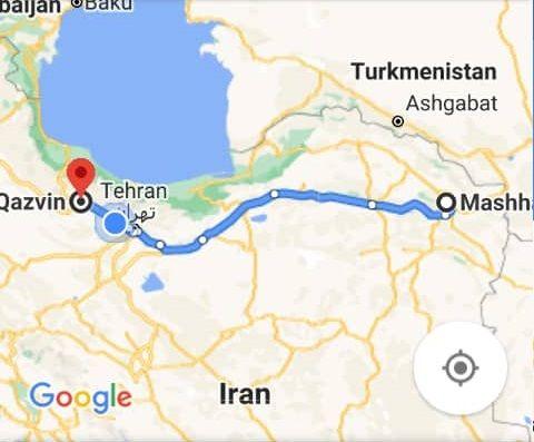 رزرو بلیط زمینی از مشهد به قزوین و بلیط اتوبوس قزوین به مشهد