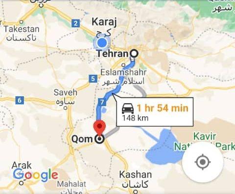 هزینه بلیط اتوبوس تهران قم و قم به تهران